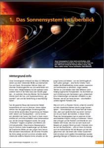 1. Sonnensystem im Überblick