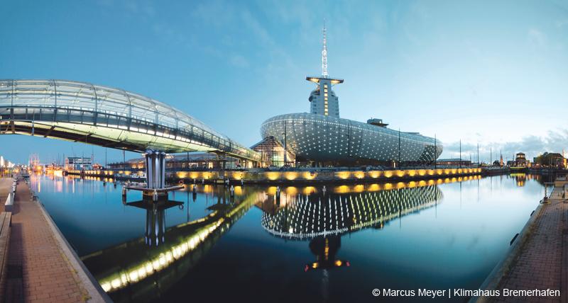 Die Wissens- und Erlebniswelt ist auch unter architektonischen Gesichtspunkten ein spannender außerschulischer Lernort.