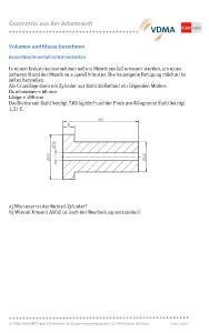 matheaufgaben aus der arbeitswelt mint zirkel. Black Bedroom Furniture Sets. Home Design Ideas