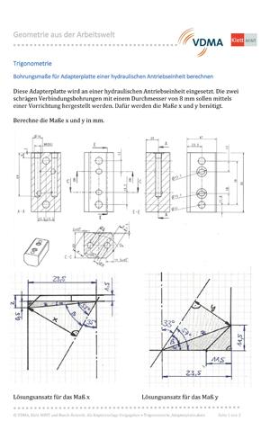 Trigonometrie_Adapterplatte