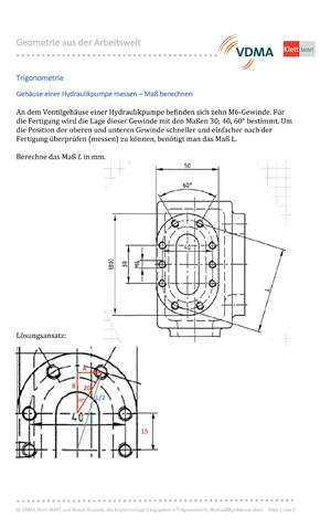 Trigonometrie_Hydraulikgehaeuse