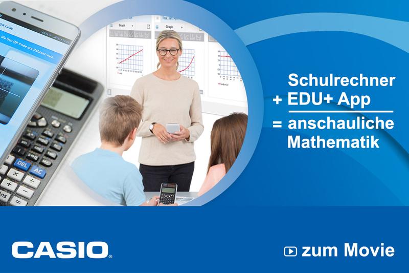 CASIO-ClassWiz-Taschenrechner-Anzeige